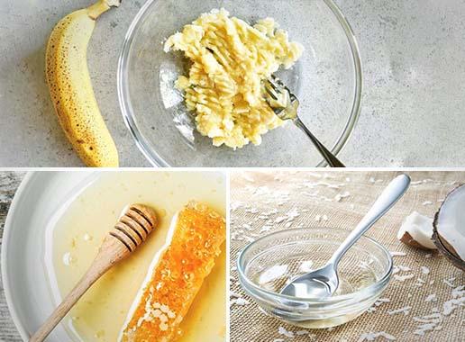 Banana, Coconut Oil & Honey Hair Mask