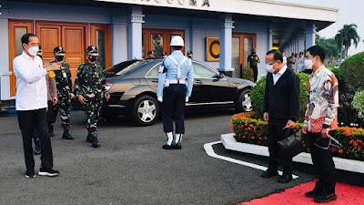 Kunjungi Sulsel, Presiden Akan Resmikan Sejumlah Infrastruktur dan Tinjau Vaksinasi