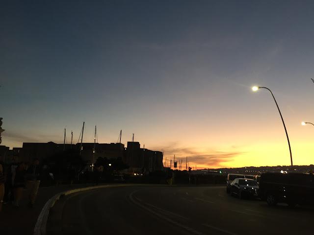 Naples-Sunset