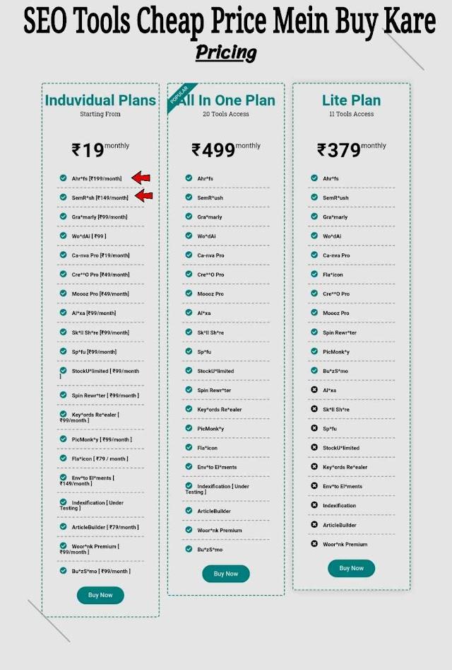 SEO Tools Cheap Price Mein Buy Kare (2021)