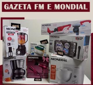 Cadastrar GAZETA FM e Mondial 2021