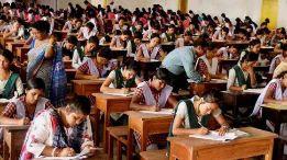 Students giving exam, gujarat board exam, exams
