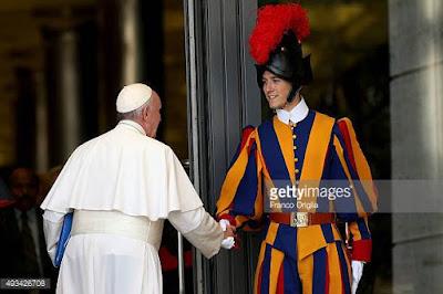 Pope Francis, Swiss guard, Vatican City