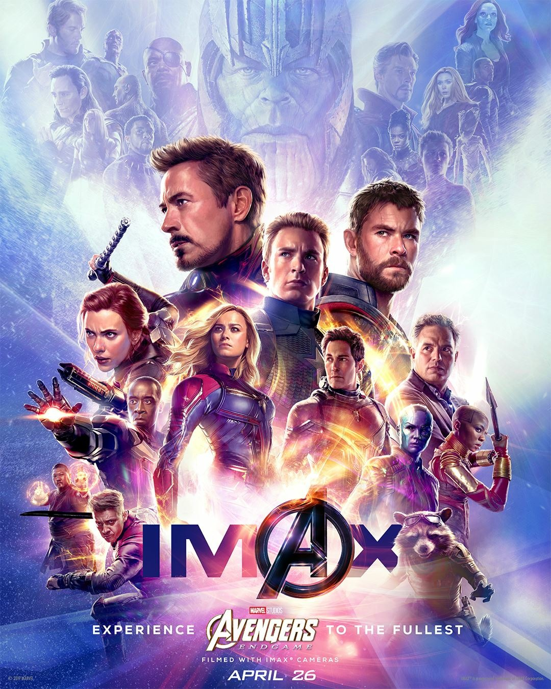 The Blot Says Avengers Endgame Imax Movie Poster