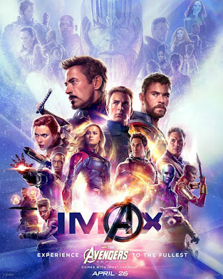 Marvel's Avengers Endgame IMAX Theatrical One Sheet Movie Poster
