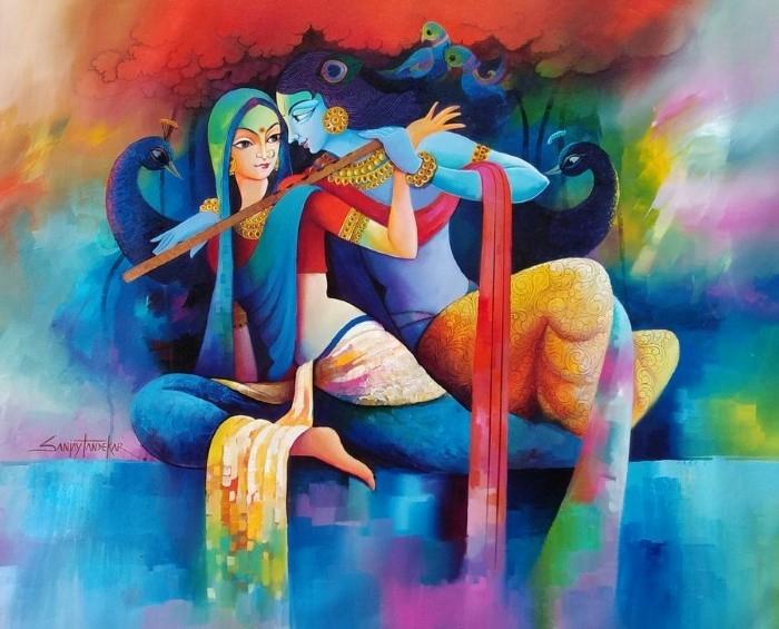 Индийский художник. Sanjay Tandekar