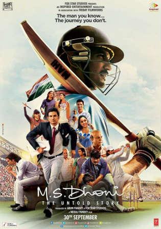 M S Dhoni The Untold Story 2016 WEBRip 500MB Hindi 480p