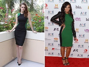 Battle Dress: Kristen Stewart vs. Ashanti