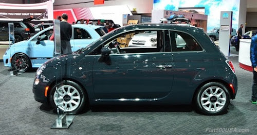 2016 Fiat 500 in Rhino