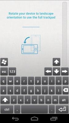 cara menghubungkan keyboard laptop ke android