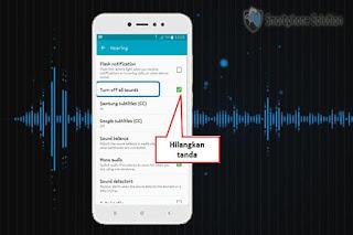 cara mengembalikan notifikasi yang hilang
