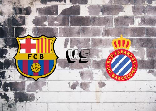 Barcelona vs Espanyol  Resumen y Partido Completo