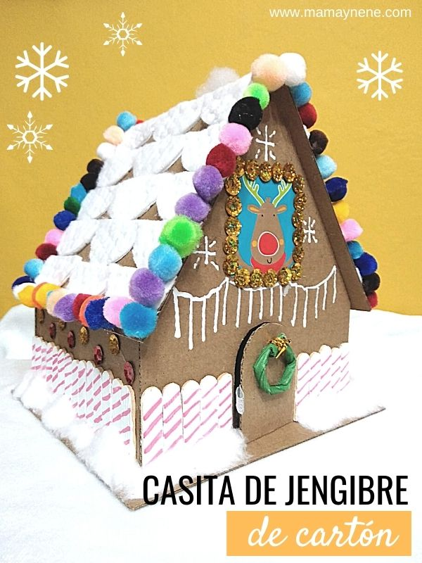 CRAFT CASA DE JENGIBRE GINGERBREAD MAMAYNENE