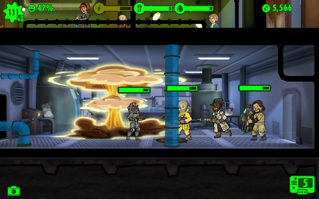 Fallout Shelter - Δημιουργήστε ένα λαμπρότερο μέλλον... υπόγειο!