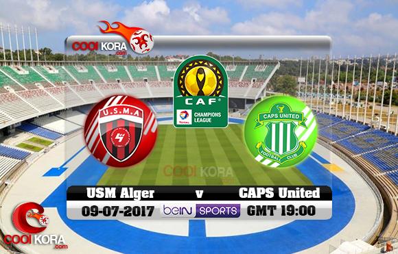 مشاهدة مباراة إتحاد الجزائر وكابس يونايتد اليوم 9-7-2017 دوري أبطال أفريقيا