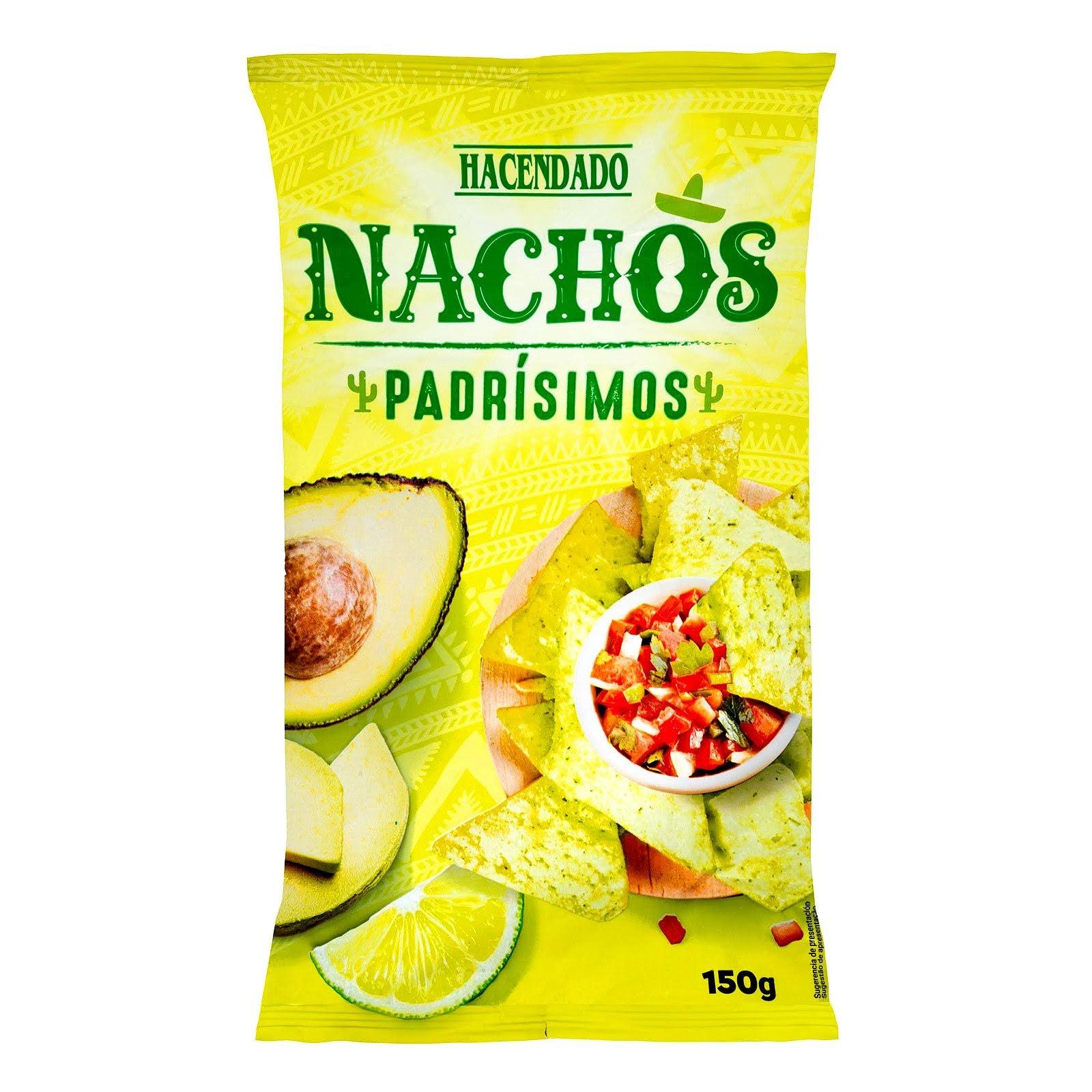 Nachos de maíz Padrísimos Hacendado