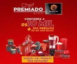 """CADASTRAR PROMOÇÃO AVON 2019 MASTERCHEF """"CHEF PREMIADO"""""""