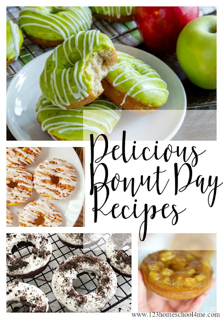 Delicious Recipes for National Donut Day for June 1