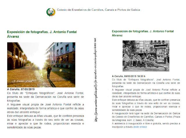 Fotografías propiedad Intelectual J. Antonio Fontal Álvarez, Propiedad intelectual de las publicaciones CICCP Galicia