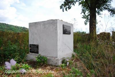 2012-es emlékmű a karmacsi zsidó temetőben