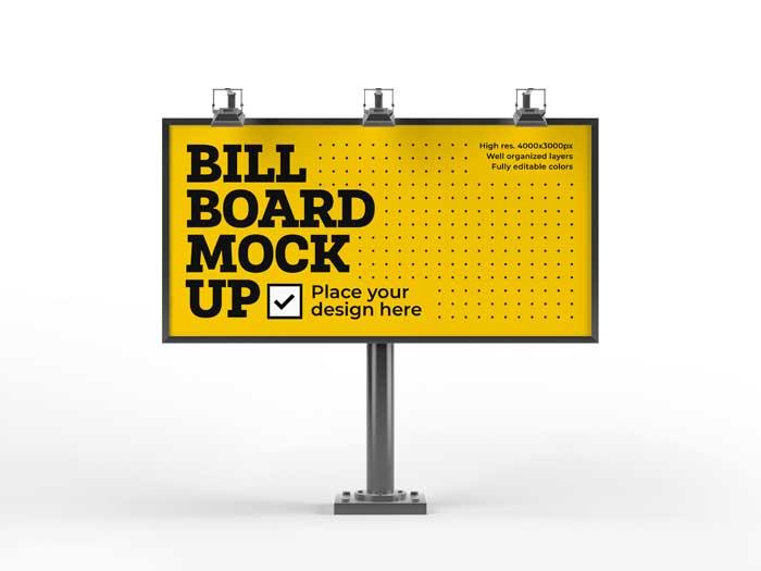 Bill Board PSD Mockup