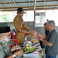 Baznas Kabupaten Wajo Salurkan Bantuan  Uang Tunai Untuk  Korban Angin Puting Beliung di Desa Pallimae