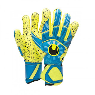 UHLSPORT RADAR CONTROL SUPERGRIP Radar blue-Flour yellow-Black