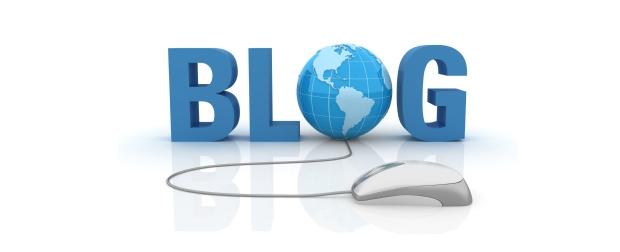 Blog com mouse