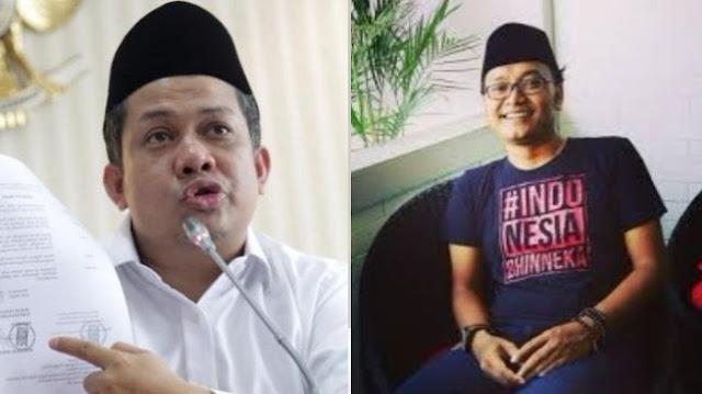 Guntur Romli: Kalau Fahri Hamzah Sendirian di Gedung DPR RI, Biarkan Saja Diledakkan Bom