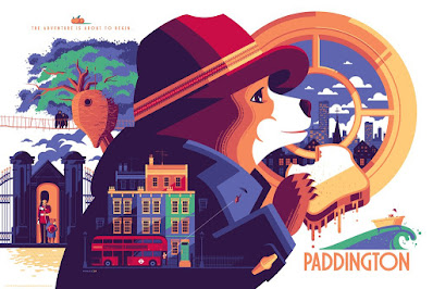 Paddington Screen Print by Tom Whalen x Mondo