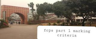 fcps part 1 criteria in Bangladesh