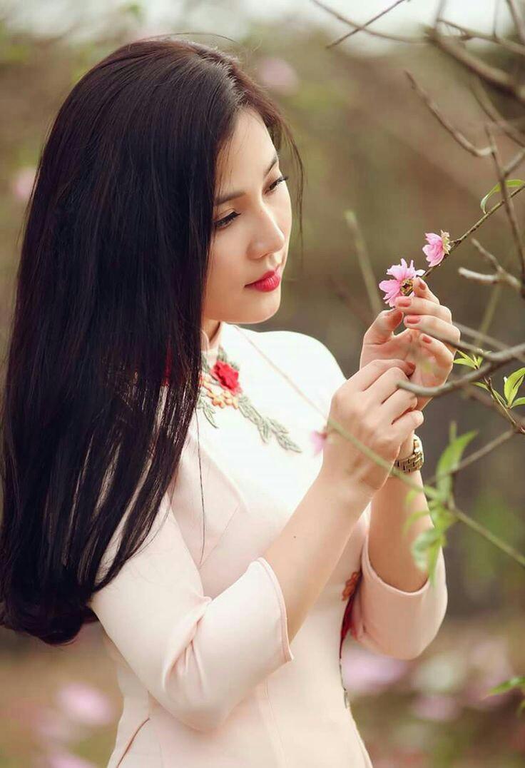 Tuyển tập girl xinh gái đẹp Việt Nam mặc áo dài đẹp mê hồn #60 - 20