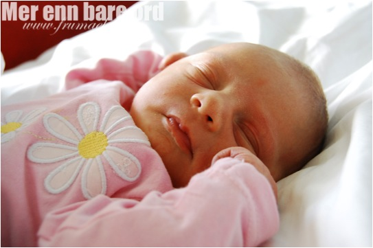 baby 4 mnd søvn dagtid