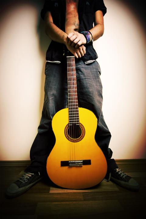 profile pictures of facebook for boys with guitars
