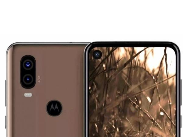 Specs and Design Leaks of Motorola P40