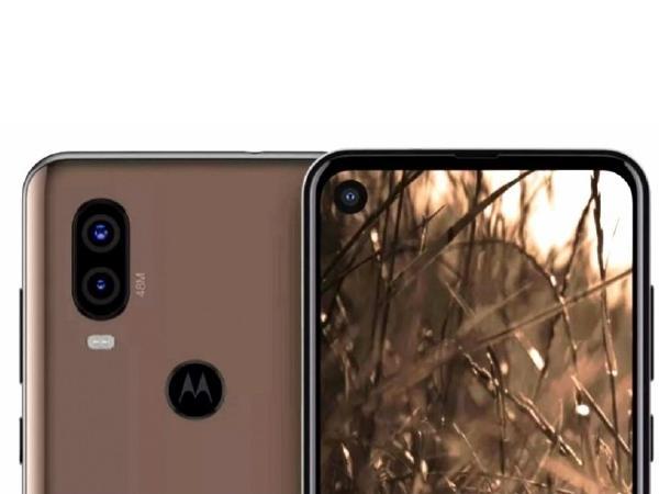 Specs and Design Leaks of Motorola P40