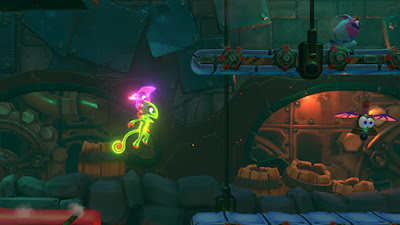 Yooka Laylee And The Impossible Lair Game Screenshot 8