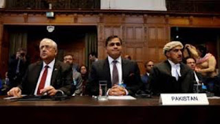 Pakistani representative at international court