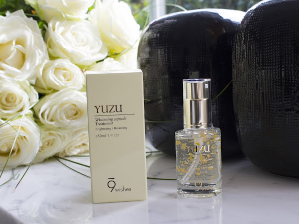 9 Wishes // YUZU Whitening Capsule Treatment