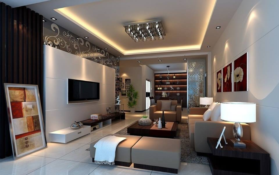 60 Images Of Cool Living Room And Bedroom Interior Design Ideas ...