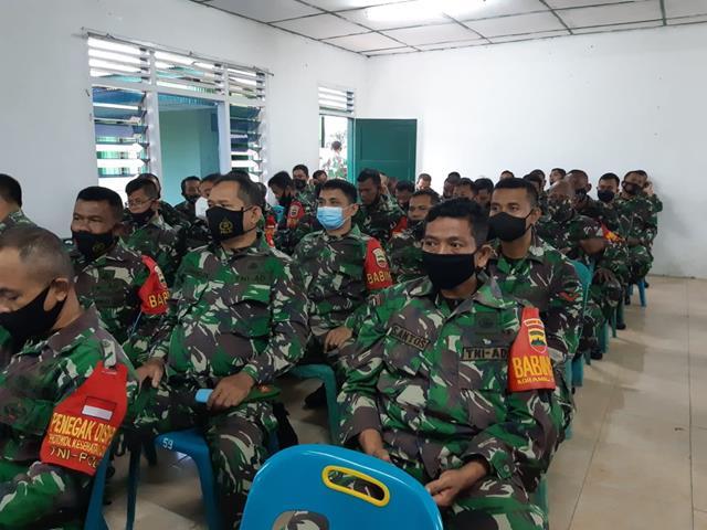 Dalam Rangka Rapat Koperasi, Personel Jajaran Kodim 0207/Simalungun Turut Serta Menghadirinya