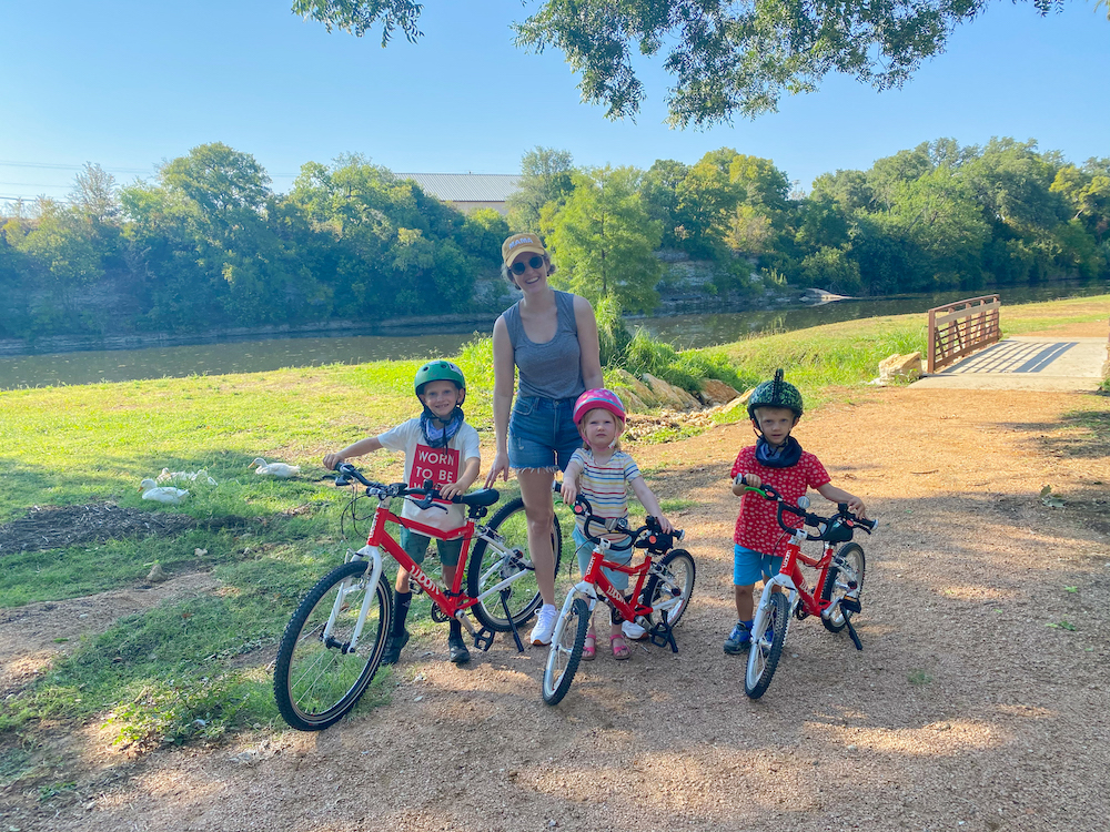 balance bike, woom balance bike, woom bike, toddler bike, toddler pedal bike, easy pedal bike, toddler bike, woom kids bike, Jesse Coulter blog, Austin blogger, Texas mom blog, Texas blogger, mom blogger, twin mom,