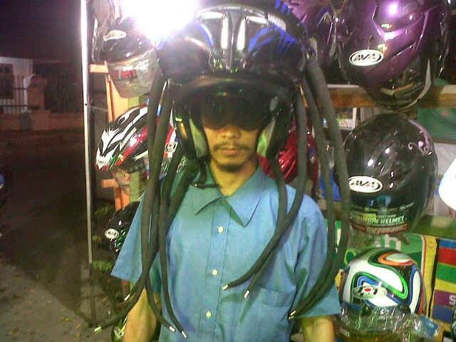 Predator Helmet - Modifikasi Helm Unik