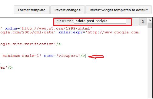 langkah langkah mencari dan mengganti kode template