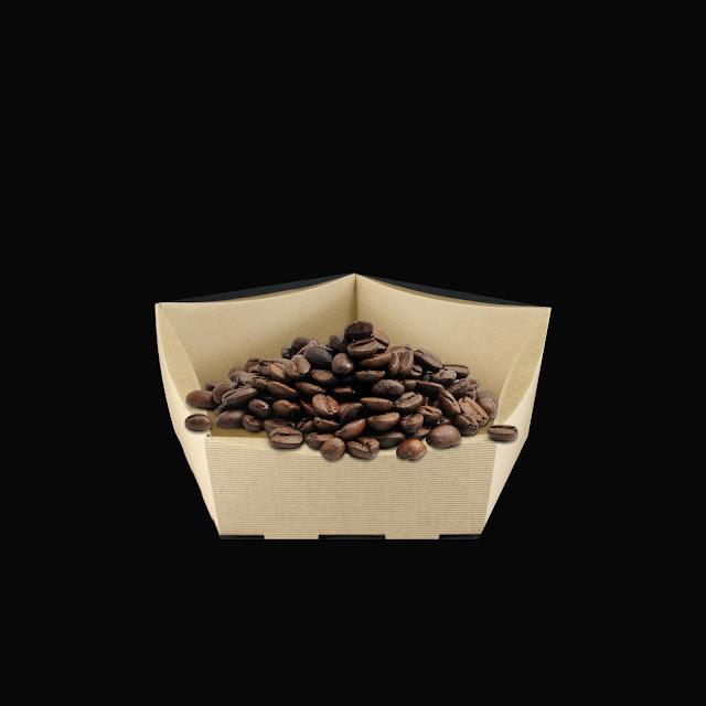 Koszyk prezentowy z kawą