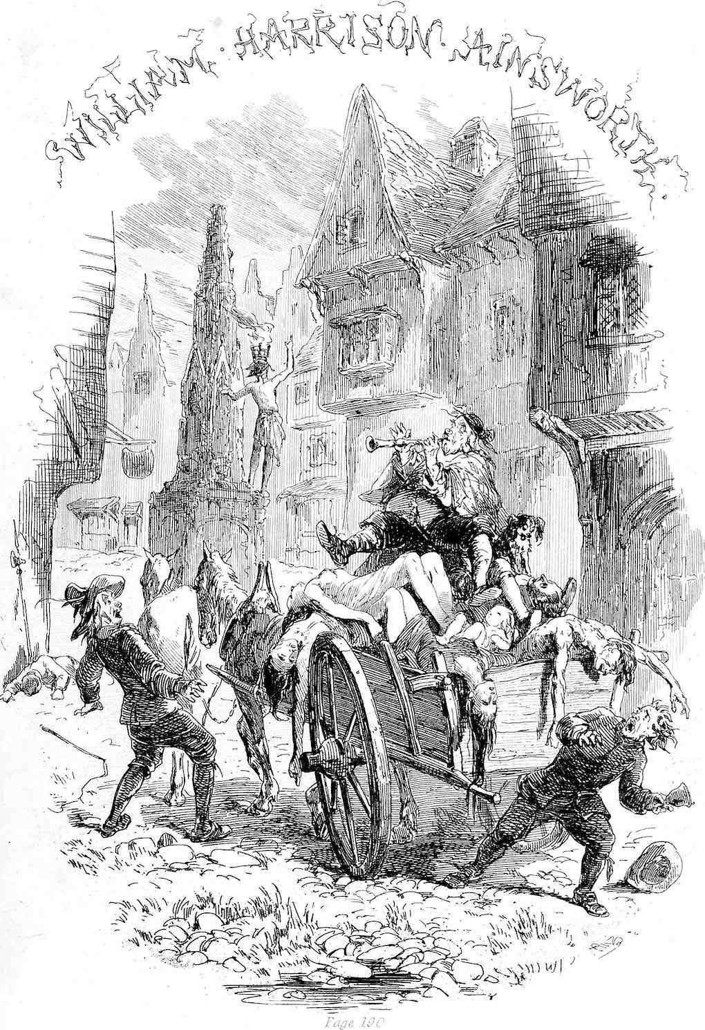 a John Franklin illustration 1847, bring out your dead