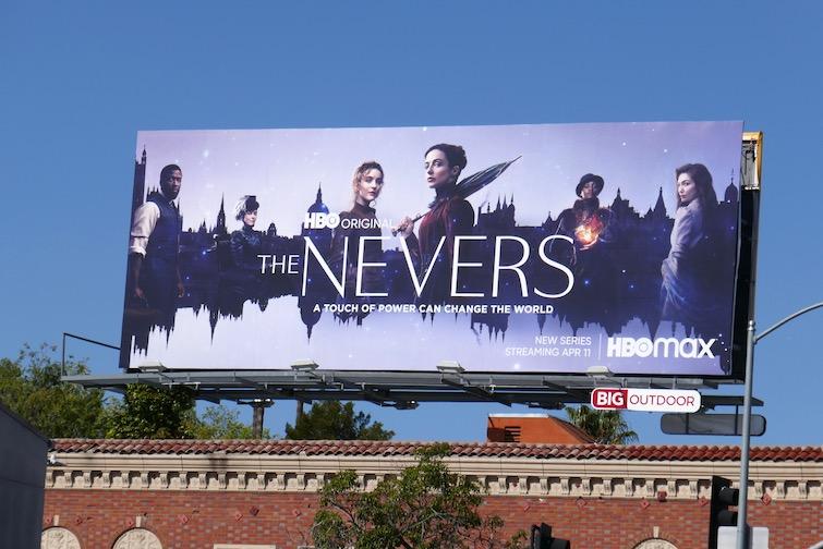 Nevers series launch billboard