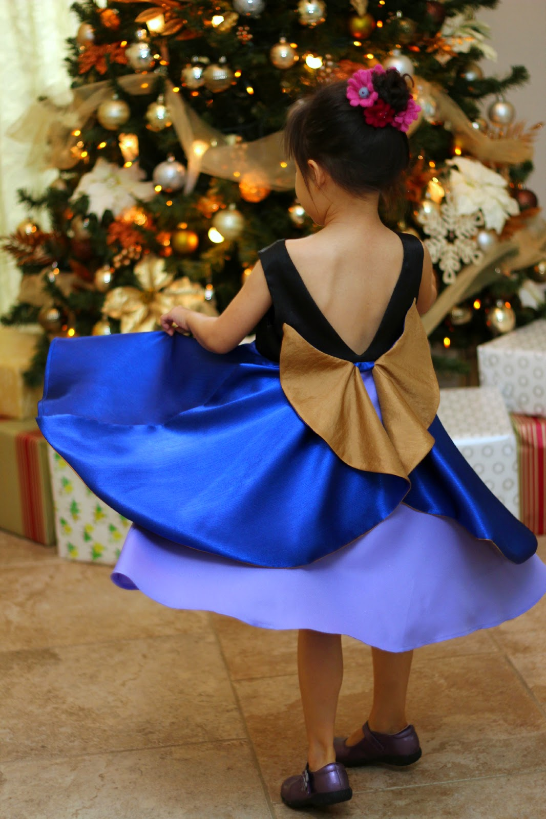 Just Skirts And Dresses Inspiration: Peaches And Bees: Frozen's Anna Inspired Holiday Dress For