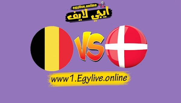 نتيجة مباراة الدنمارك وبلجيكا اليوم بتاريخ 05-09-2020 في دوري الأمم الأوروبية