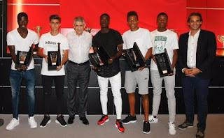 Benfica campeões europeus sub-17
